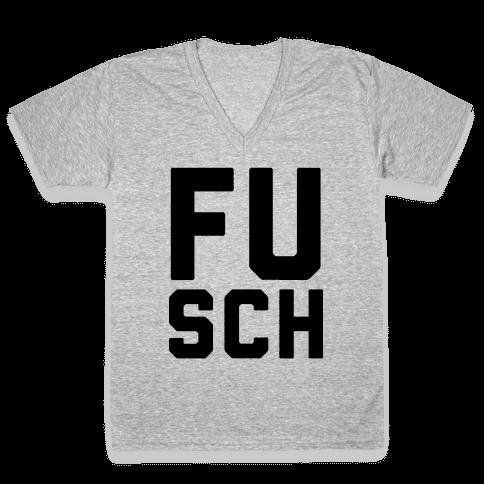 F*** School 1 V-Neck Tee Shirt