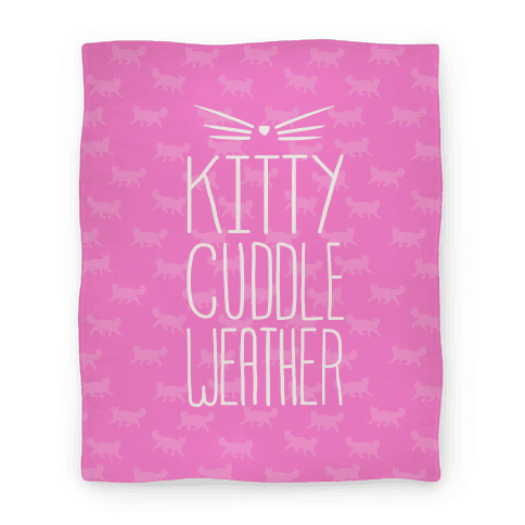 Kitty Cuddle Weather Blanket