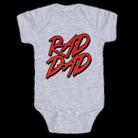 Rad Dad Baby Onesy