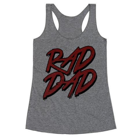 Rad Dad Racerback Tank Top