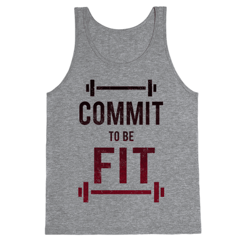 COMMIT to be FIT Tank Top