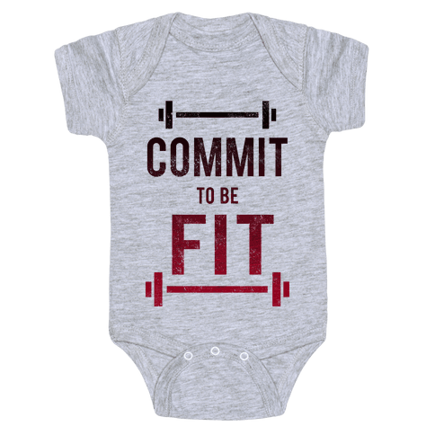 COMMIT to be FIT Baby Onesy