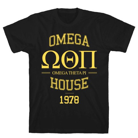 Omega House Mens T-Shirt