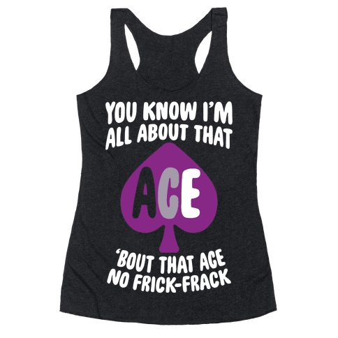 All About That Ace Racerback Tank Top