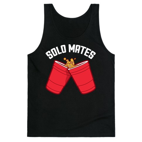 Solo Mates Dark (Red) Tank Top
