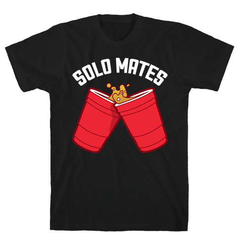 Solo Mates Dark (Red) Mens T-Shirt