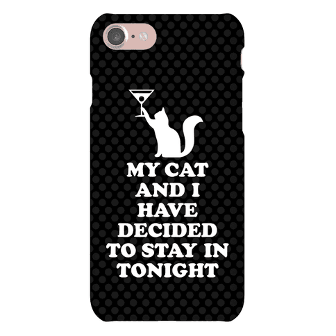My Cat And I Phone Case