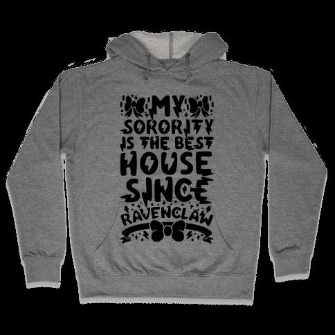 Ravenclaw Sorority Hooded Sweatshirt