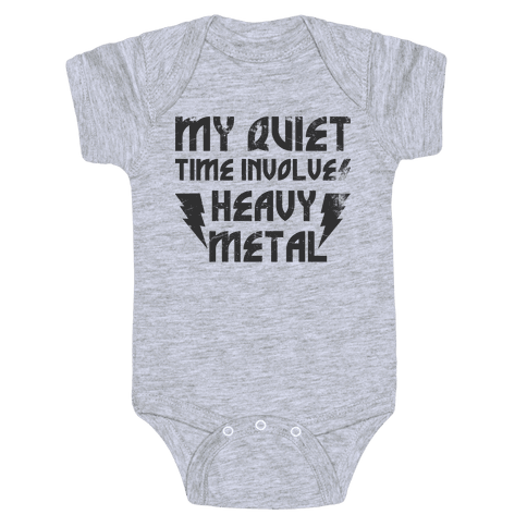 Heavy Metal Baby Onesy