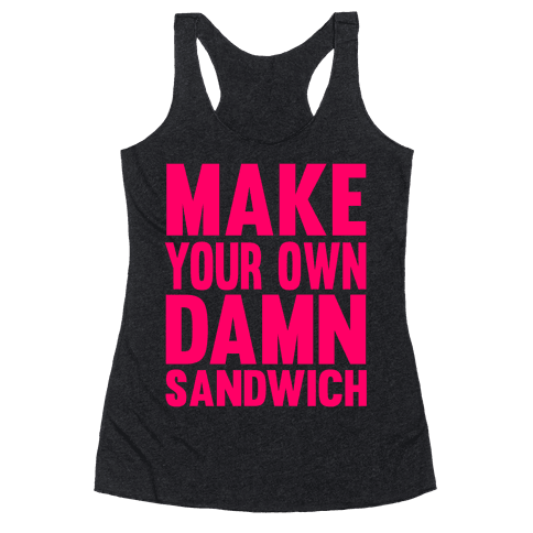 Make Your Own Racerback Tank Top