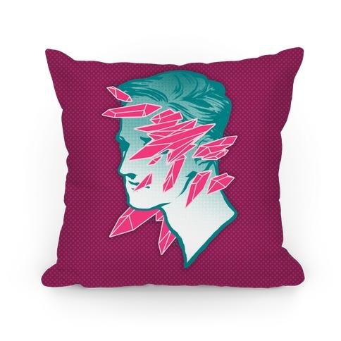 Crystal Faced Stranger Pillow