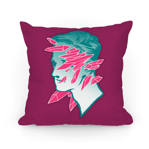 Crystal Faced Stranger Pillow