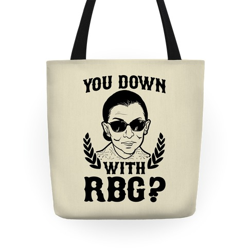 You Down With RBG? Tote