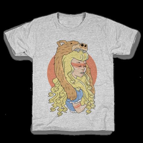 Tribal Goldilocks Kids T-Shirt