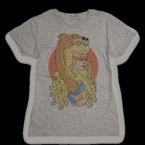 Tribal Goldilocks Womens T-Shirt