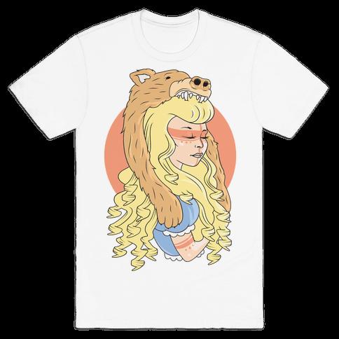 Tribal Goldilocks Mens T-Shirt