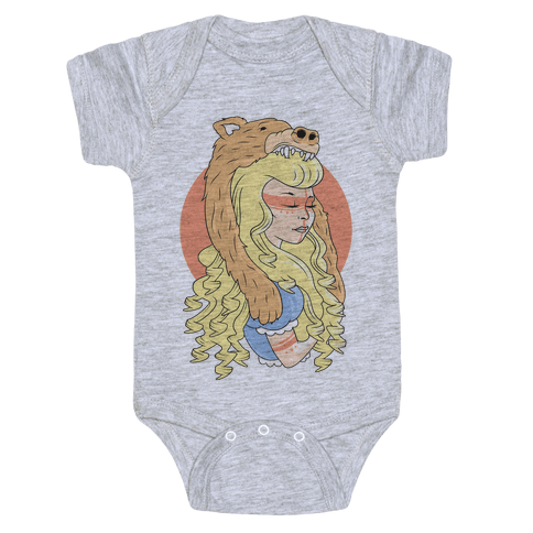 Tribal Goldilocks Baby Onesy