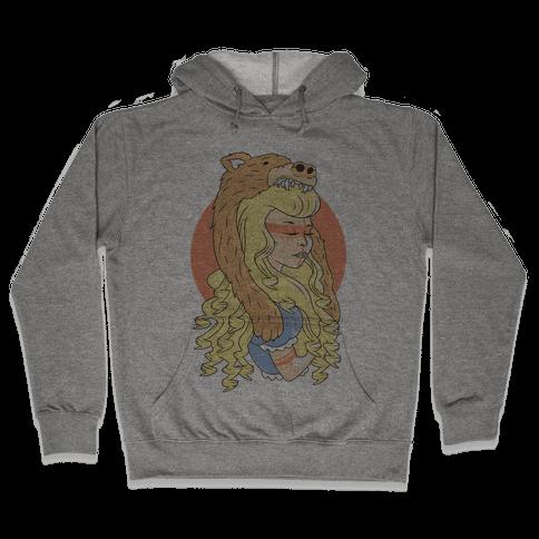 Tribal Goldilocks Hooded Sweatshirt