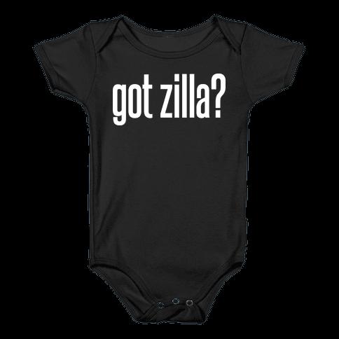 Got Zilla Baby Onesy