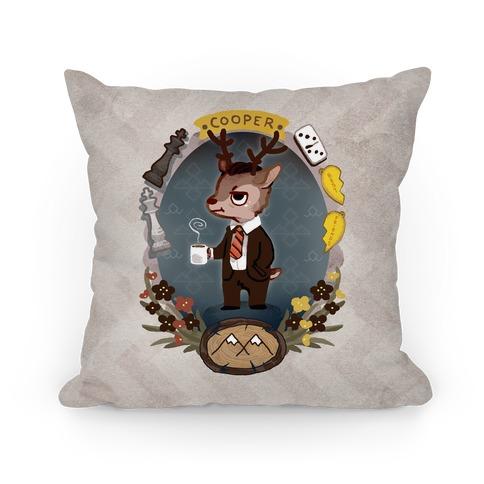 Agent Cooper Pillow Pillow
