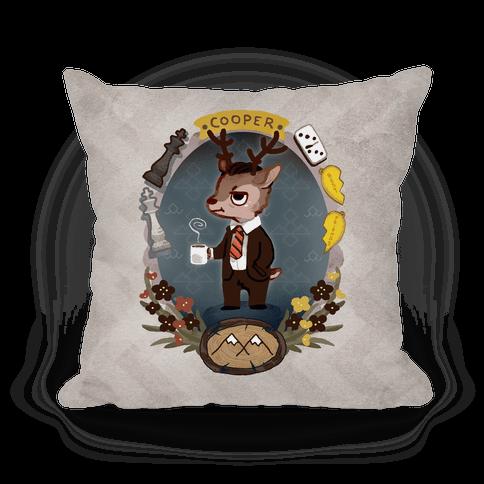 Agent Cooper Pillow