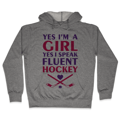 Fluent Hockey Hooded Sweatshirt