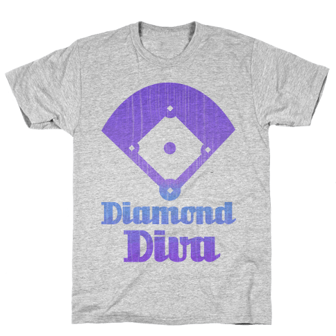 Diamond Diva Mens T-Shirt