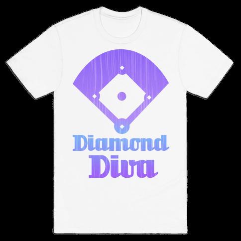 Diamond Diva Mens T-Shirt