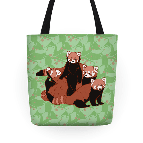 Cute Red Pandas Tote
