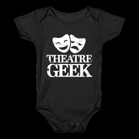 Theatre Geek Baby Onesy