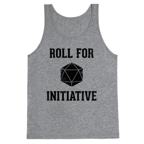 Roll For Initiative (Vintage) Tank Top