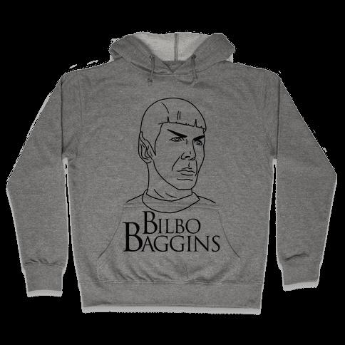 Ballad of Bilbo Baggins (Nimoy) Hooded Sweatshirt