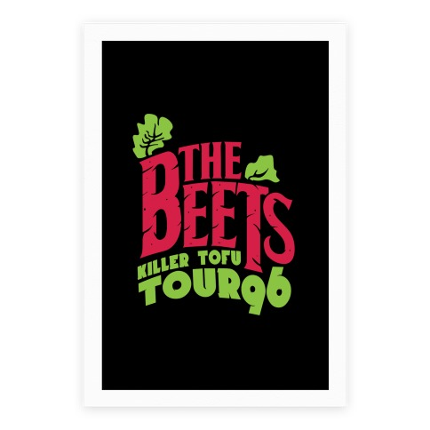 Beets Tour Poster