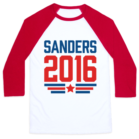 Sanders 2016 Baseball Tee