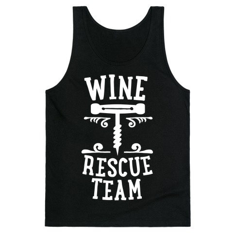 Wine Rescue Team Tank Top