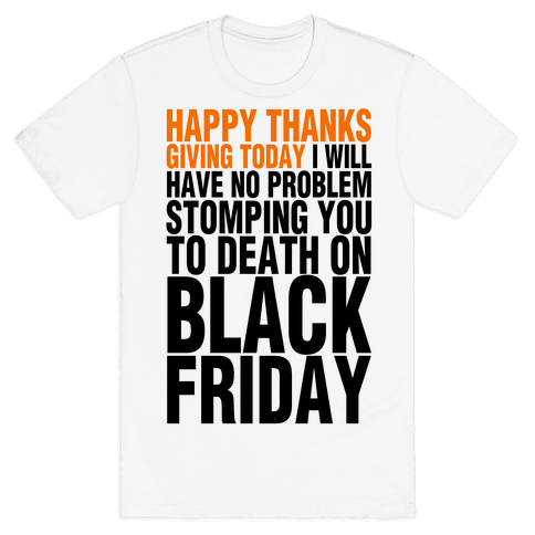 Happy Thanksgiving, For Now Mens T-Shirt