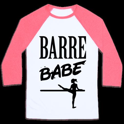 Barre Babe Baseball Tee