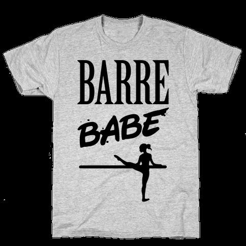 Barre Babe Mens T-Shirt