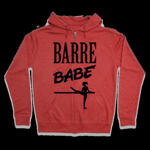 Barre Babe Zip Hoodie