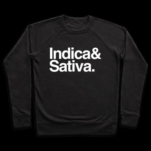 Indica and Sativa Pullover