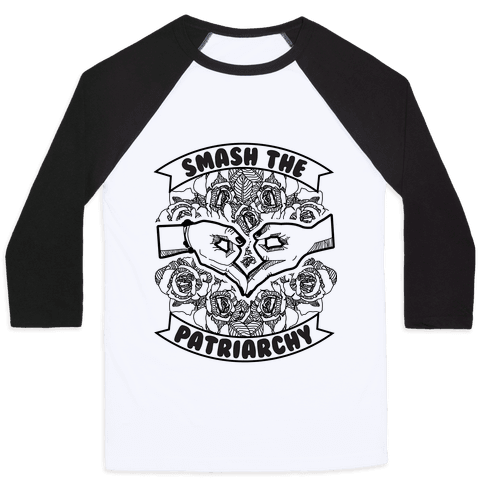 Smash the Patriarchy Baseball Tee