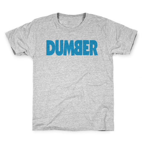 Dumber (Couples) Kids T-Shirt