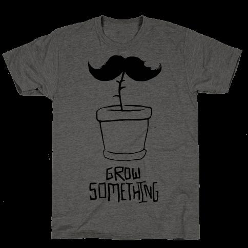 Grow A Mustache