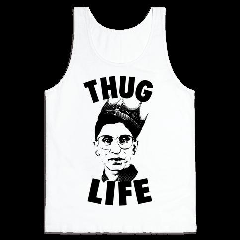 Ruth Bader Ginsberg Thug Life Tank Top