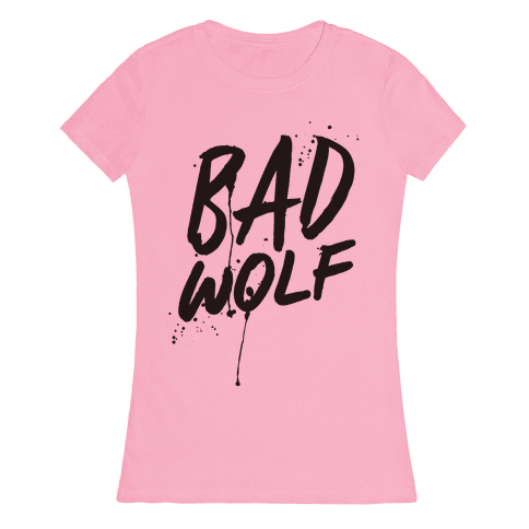 Doctor Who Bad Wolf Womens T-Shirt