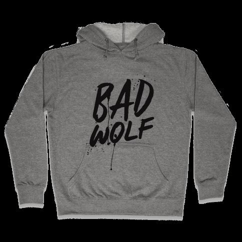 Doctor Who Bad Wolf Hooded Sweatshirt