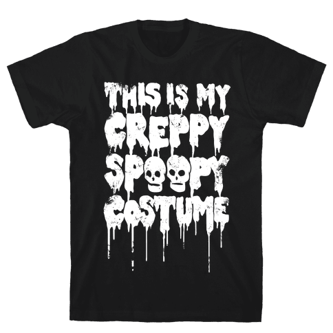 This Is My Creppy Spoopy Costume Mens T-Shirt