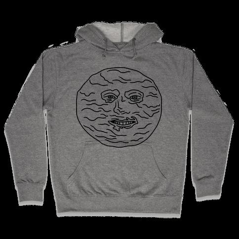 I'M DAH MOON (The Mighty Boosh) Hooded Sweatshirt