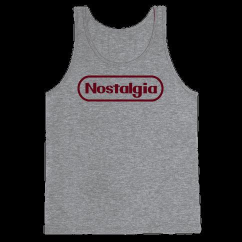 Nostalgia (Old Nintendo Logo) Tank Top