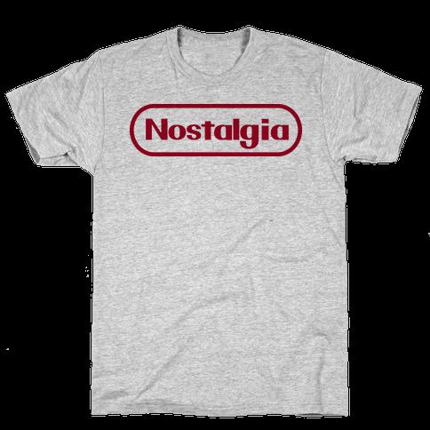 Nostalgia (Old Nintendo Logo) Mens T-Shirt